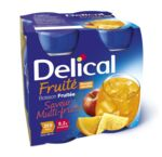 DELICAL BOISSON FRUITEE Nutriment multi fruits 4Bouteilles/200ml à DURMENACH