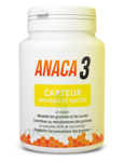 Anaca3 Capteur Graisses et Sucres Gélules B/60 à DURMENACH