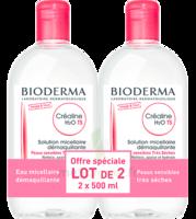 Crealine Ts H2o Solution Micellaire Sans Parfum Nettoyante Apaisante 2fl/500ml à DURMENACH
