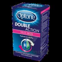 Optone Double Action Solution Oculaire Yeux Secs Fl/10ml à DURMENACH