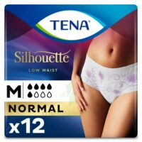 Tena Lady Silhouette Slip Absorbant Blanc Normal Médium Paquet/12 à DURMENACH