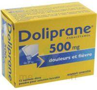 DOLIPRANE 500 mg Poudre pour solution buvable en sachet-dose B/12 à DURMENACH