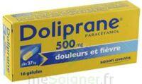 Doliprane 500 Mg Gélules B/16 à DURMENACH