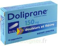 Doliprane 150 Mg Suppositoires 2plq/5 (10) à DURMENACH