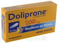 Doliprane 200 Mg Suppositoires 2plq/5 (10) à DURMENACH