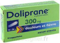 DOLIPRANE 300 mg Suppositoires 2Plq/5 (10) à DURMENACH