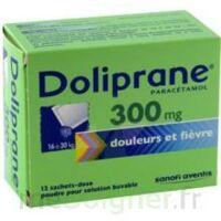 DOLIPRANE 300 mg Poudre pour solution buvable en sachet-dose B/12 à DURMENACH