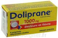 DOLIPRANE 1000 mg Comprimés effervescents sécables T/8 à DURMENACH