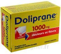 DOLIPRANE 1000 mg Poudre pour solution buvable en sachet-dose B/8 à DURMENACH