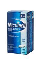 Nicotinell Menthe Fraicheur 4 Mg Sans Sucre, Gomme à Mâcher Médicamenteuse 8plq/12 à DURMENACH