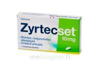 ZYRTECSET 10 mg, comprimé pelliculé sécable à DURMENACH