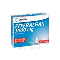 Efferalgan 1000 Mg Comprimés Pelliculés Plq/8 à DURMENACH