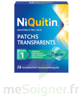 Niquitin 21 Mg/24 Heures, Dispositif Transdermique Sach/28 à DURMENACH