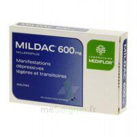 MILDAC 600 mg, comprimé enrobé à DURMENACH