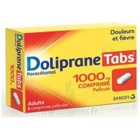 DOLIPRANETABS 1000 mg Comprimés pelliculés Plq/8 à DURMENACH