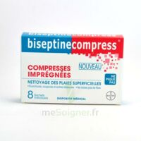 Biseptinecompress Compressses Impregnees, Bt 8 à DURMENACH