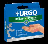 Urgo Brulures-blessures Petit Format X 6 à DURMENACH