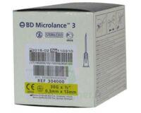 BD MICROLANCE 3, G30 1/2, 0,30 mm x 13 mm, jaune  à DURMENACH