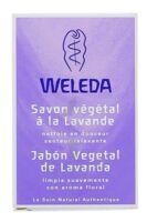 Weleda Savon Végétal à la Lavande 100 g
