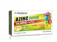Azinc Energie Taurine + Vitamine C Comprimés à croquer dès 15 ans B/30 à DURMENACH