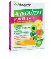 Arkovital Pur'energie Multivitamines Comprimés Dès 6 Ans B/30 à DURMENACH