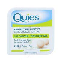 QUIES PROTECTION AUDITIVE CIRE NATURELLE 8 PAIRES à DURMENACH