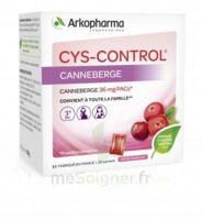 Cys-control 36mg Poudre Orale 20 Sachets/4g à DURMENACH
