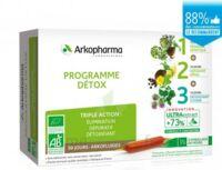 Arkofluide Bio Ultraextract Coffret Programme Détox 3x10 Ampoules/10ml à DURMENACH