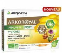 Arkoroyal Immunité Fort Solution Buvable 20 Ampoules/10ml à DURMENACH
