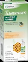 LES ELEMENTAIRES Solution buccale maux de gorge adulte 30ml à DURMENACH