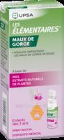 LES ELEMENTAIRES Spray buccal maux de gorge enfant Fl/20ml à DURMENACH