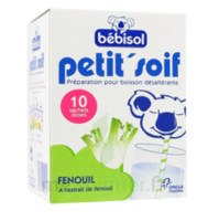 Bébisol Petit'soif Fenouil X10 à DURMENACH