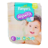 PAMPERS COUCHES ACTIVE FIT TAILLE 4 7-18 KG x 26 à DURMENACH