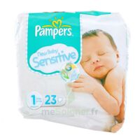 PAMPERS COUCHES NEW BABY SENSITIVE TAILLE 1 2-5 KG x 23 à DURMENACH