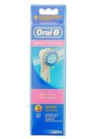 Brossette De Rechange Oral-b Sensitive Clean X 3 à DURMENACH