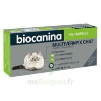 Biocanina Multivermyx Comprimés Vermifuge Chat B/2 à DURMENACH