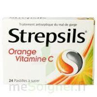 STREPSILS ORANGE VITAMINE C, pastille à DURMENACH
