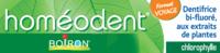 Boiron Homéodent Soin Complet Dents Et Gencives Pâte Dentifrice Chlorophylle Format Voyage T/25ml à DURMENACH