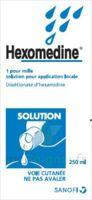 HEXOMEDINE 1 POUR MILLE S appl loc Fl/250ml à DURMENACH
