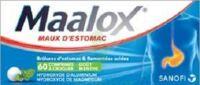 MAALOX HYDROXYDE D'ALUMINIUM/HYDROXYDE DE MAGNESIUM 400 mg/400 mg Cpr à croquer maux d'estomac Plq/60 à DURMENACH
