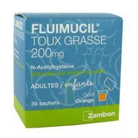 Fluimucil Expectorant Acetylcysteine 200 Mg Sans Sucre, Granulés Pour Solution Buvable En Sachet édulcorés à L'aspartam Et Au Sorbitol à DURMENACH
