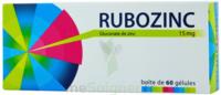 RUBOZINC 15 mg Gél 1Plq/60 à DURMENACH