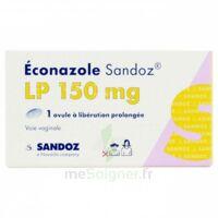 Econazole Sandoz L.p. 150 Mg, Ovule à Libération Prolongée à DURMENACH