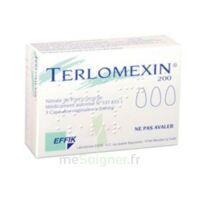 Terlomexin 200 Mg, Capsule Molle Vaginale à DURMENACH