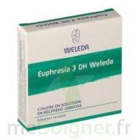 EUPHRASIA 3DH WELEDA, collyre en solution en récipient unidose