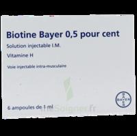 BIOTINE BAYER 0,5 POUR CENT, solution injectable I.M. à DURMENACH