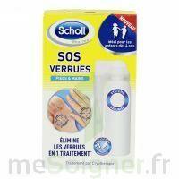Scholl SOS Verrues traitement pieds et mains à DURMENACH