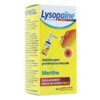 LYSOPAINE Maux Gorge spray AMBROXOL.MENTHE 20ML à DURMENACH