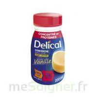 DELICAL BOISSON HP HC CONCENTREE Nutriment vanille 4Bouteilles/200ml à DURMENACH