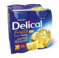 Delical Boisson Fruitee Nutriment Ananas 4bouteilles/200ml à DURMENACH
